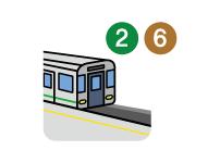 지하철 2, 6호선